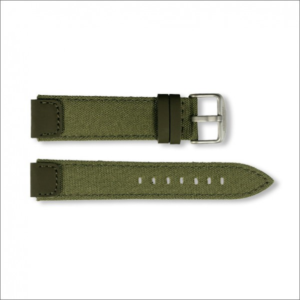OutDoor Canvas strap | Olive | 18mm