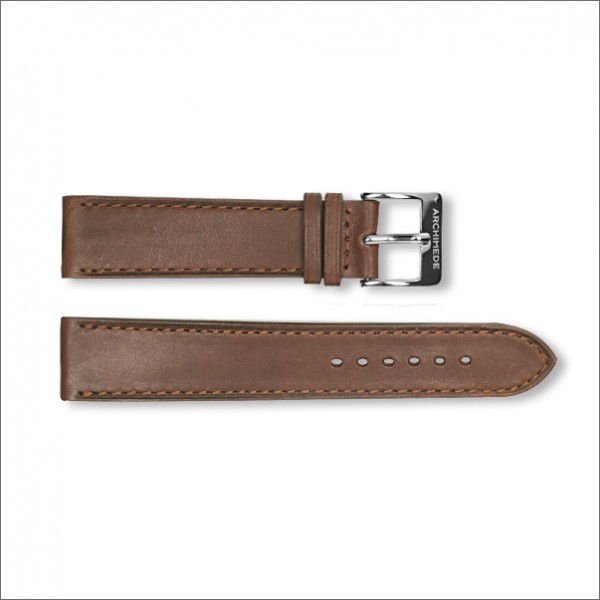 1950's leather strap | brown | 20mm
