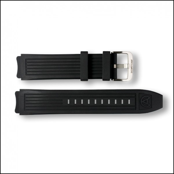 OutDoor Silicone strap | Black | 18mm
