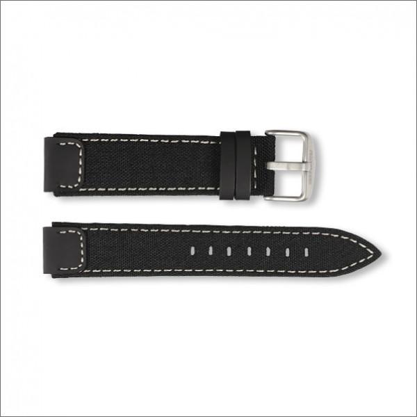 OutDoor Canvas strap | Black | 18mm