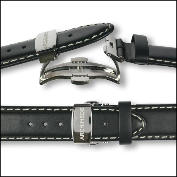 Deployant clasp | polished | without strap